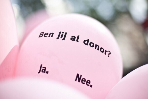 Donorweek: 9 miljoen Nederlanders maken geen keuze