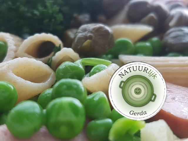 Gerda's galgenmaal voor de prinses: pasta en tuinerwtjes