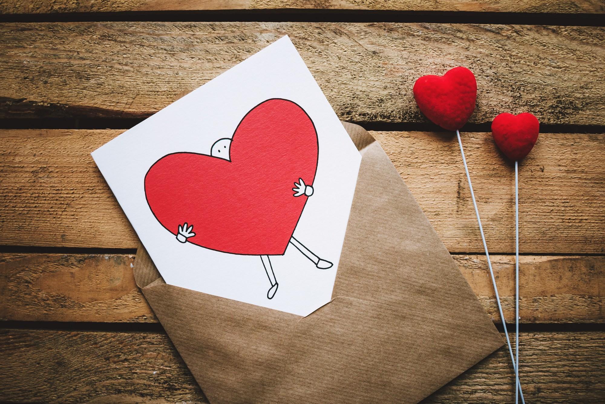 Brabanders krijgen de meeste valentijnskaarten