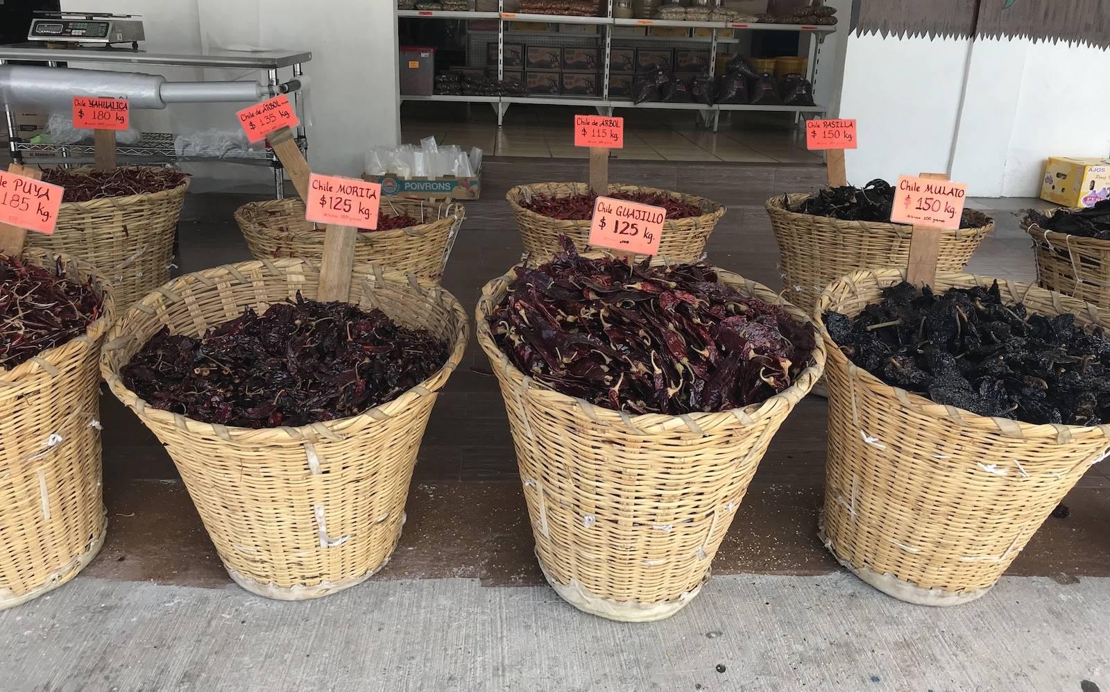Eten in Mexico: heet, heter, heetst!