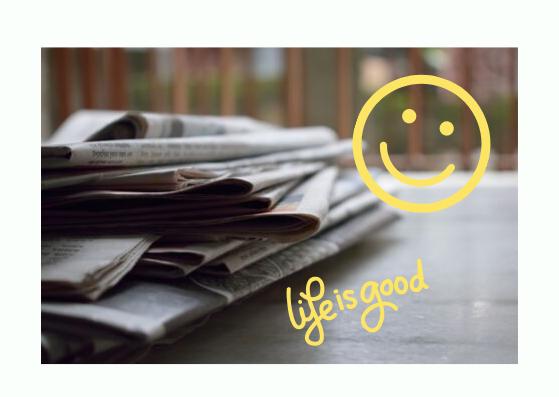 Nieuwe rubriek: nieuws waar je blij van wordt