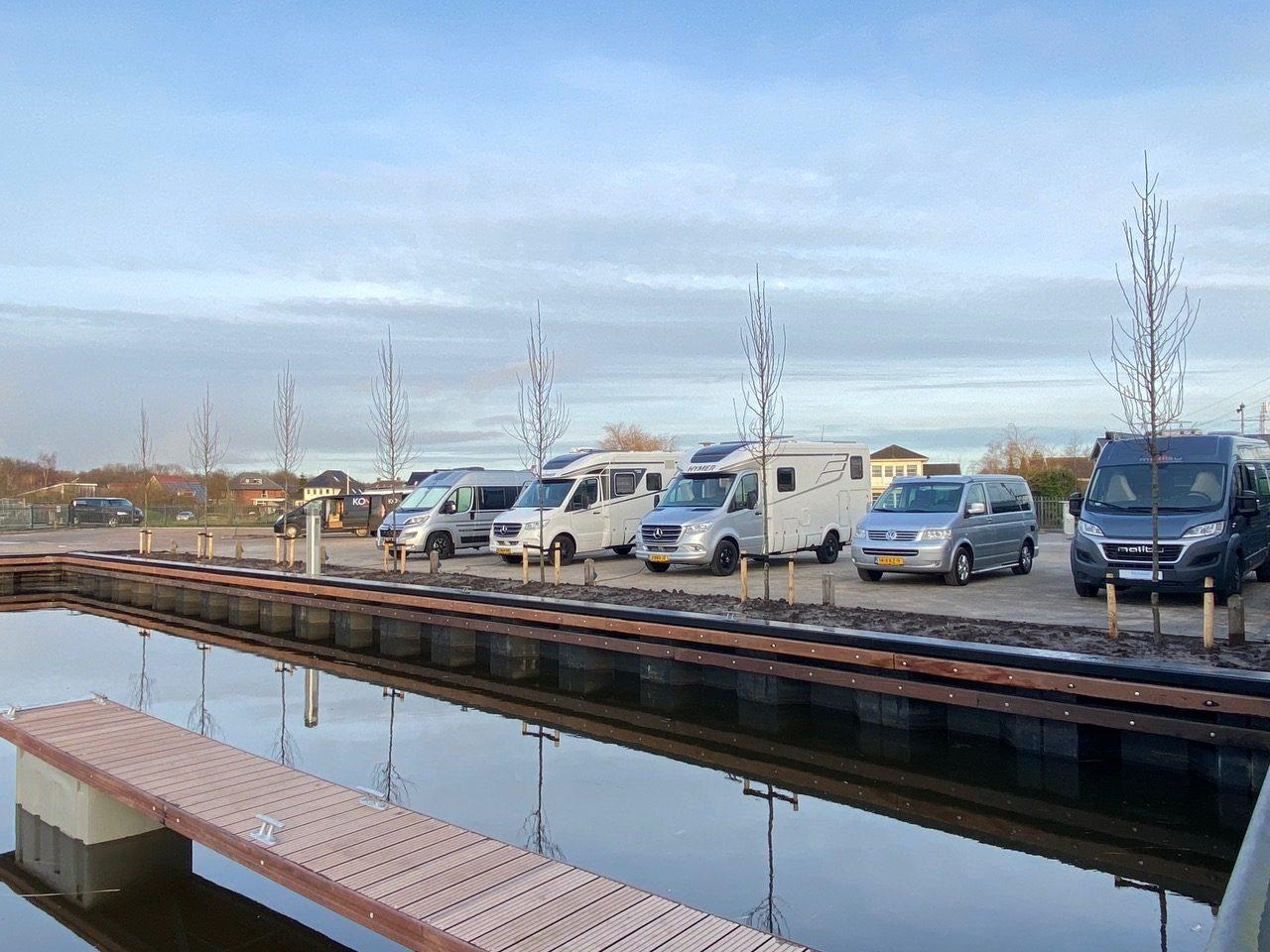 Camperplaats Leeuwarden weer open na verbouwing